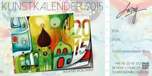 Gutschein Kalender 2015